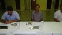 Sessão Itinerante na localidade de Queimado.